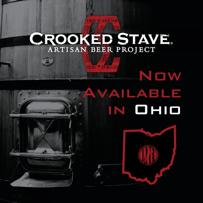 CROOKED STAVE ANNOUNCES DISTRIBUTION IN OHIO