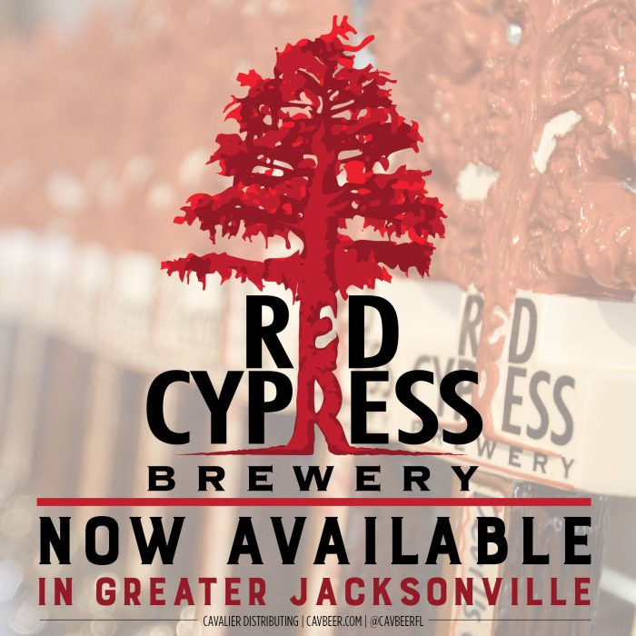 RED CYPRESS BREWERY ANNOUNCES DISTRIBUTION IN GREATER JACKSONVILLE
