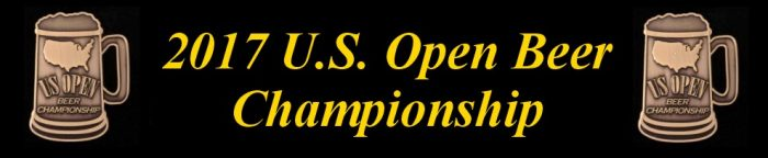 2017 U.S. Open Beer Championship Results