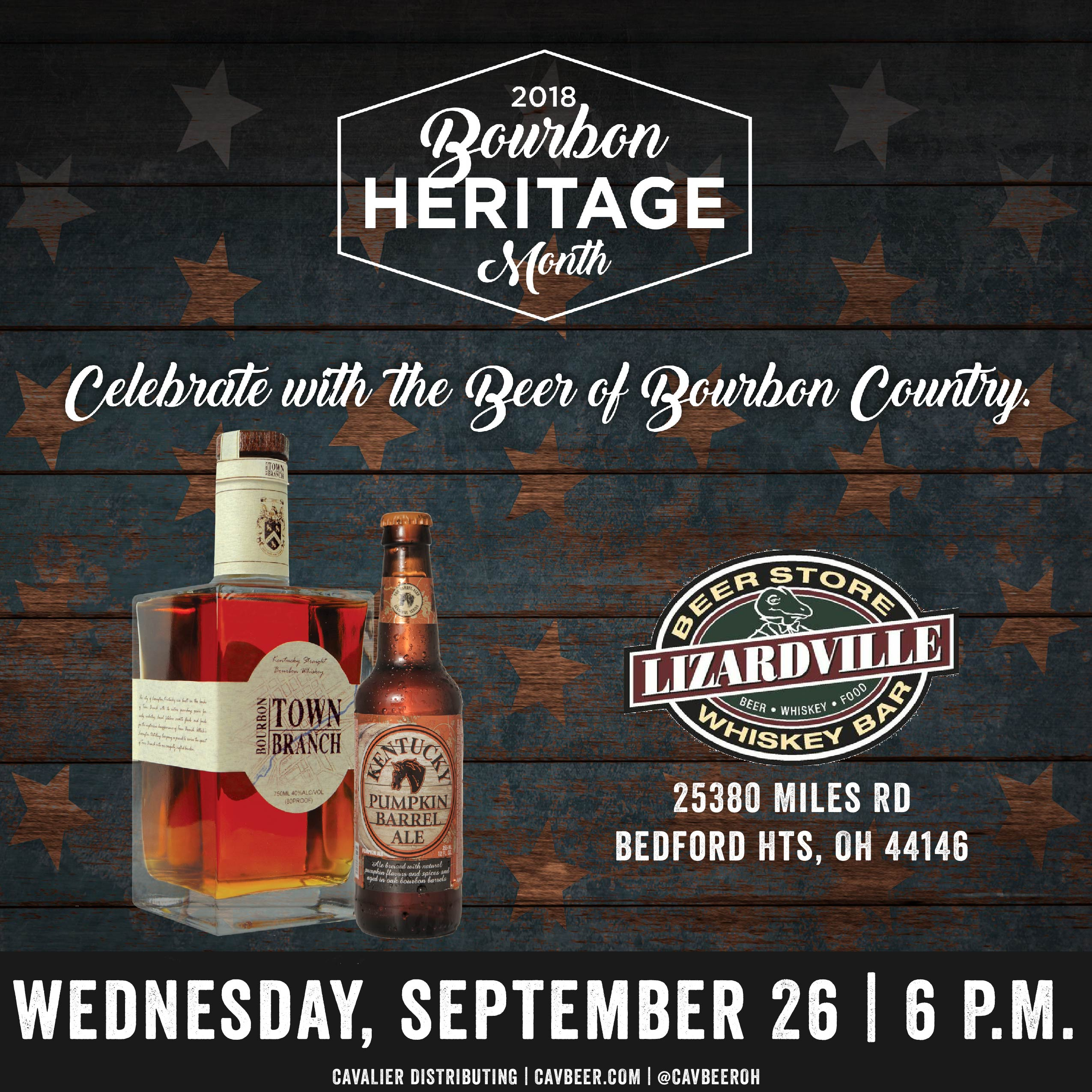 Celebrate Bourbon Heritage Month @ Lizardville – Bedford Heights