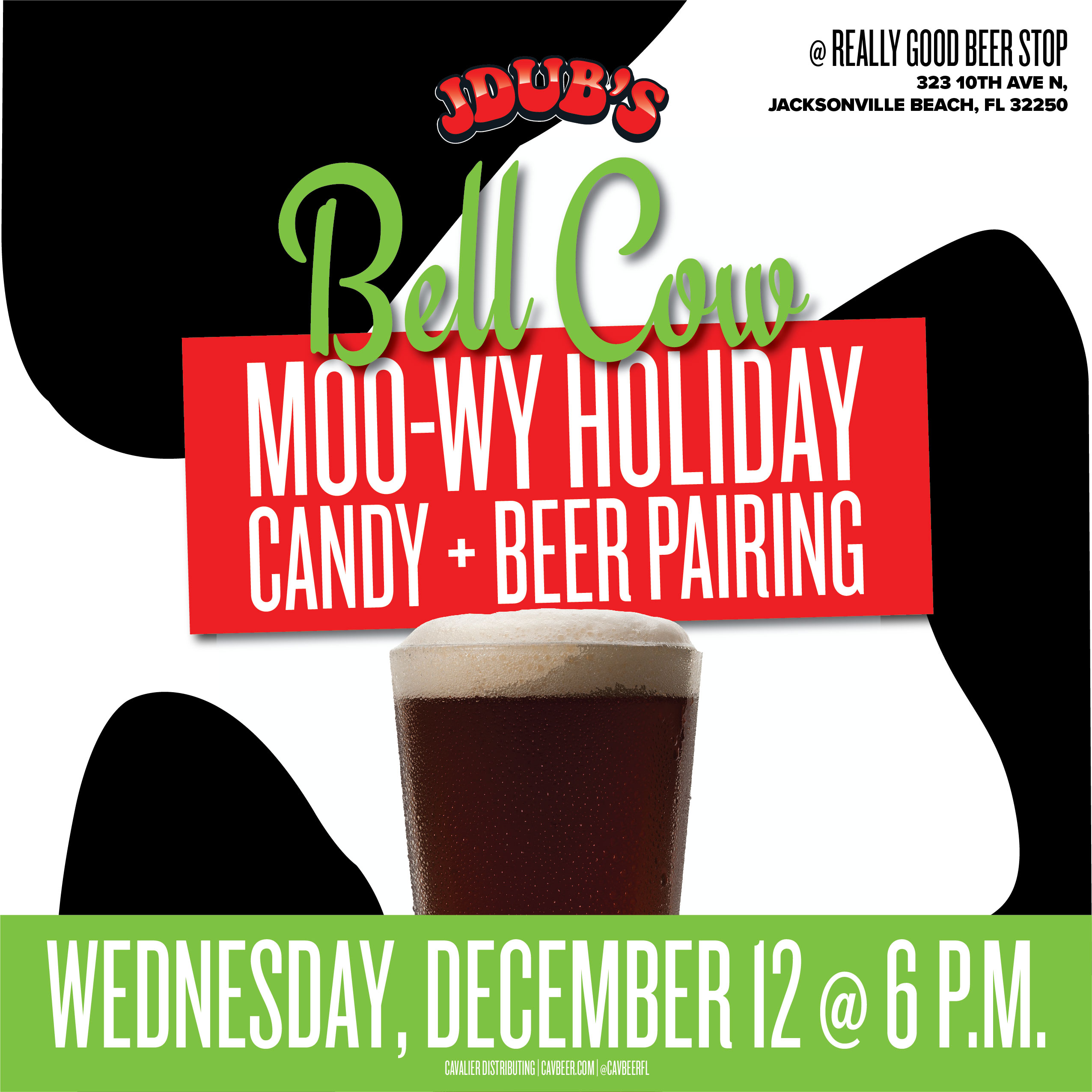 JDub's Candy & Beer Pairing @ Really Good Beer Stop