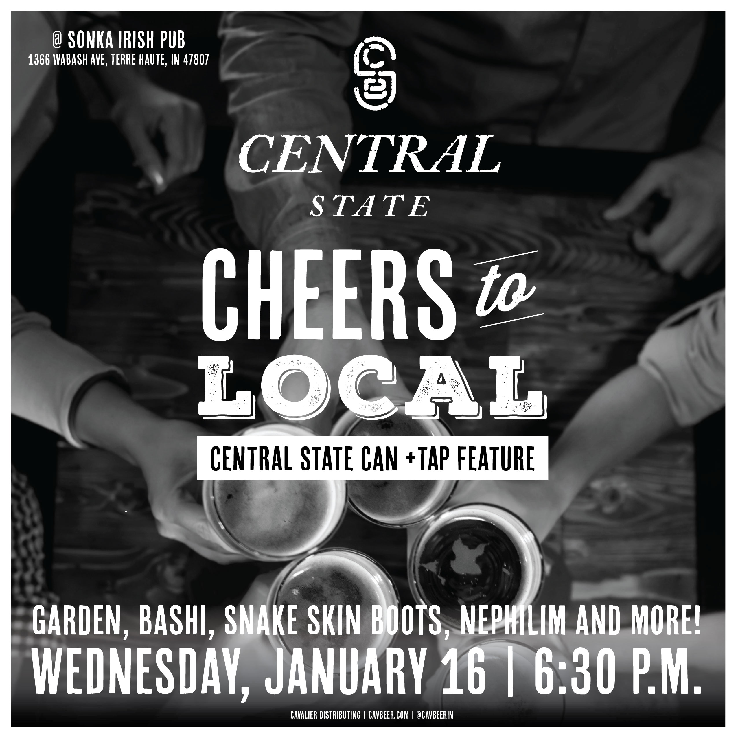 Central State Can & Tap Feature @ Sonka Irish Pub
