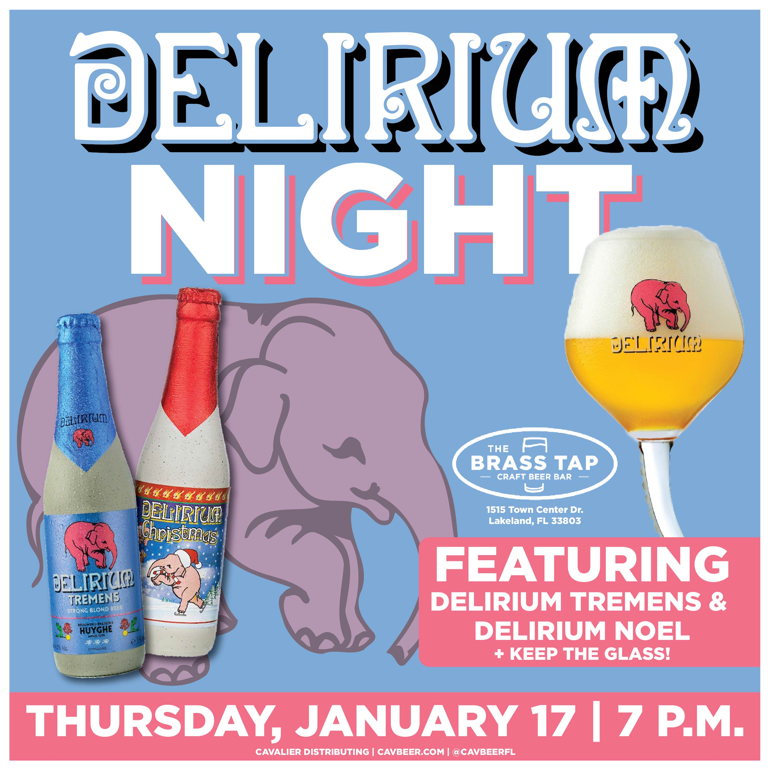 Delirium Night @ The Brass Tap
