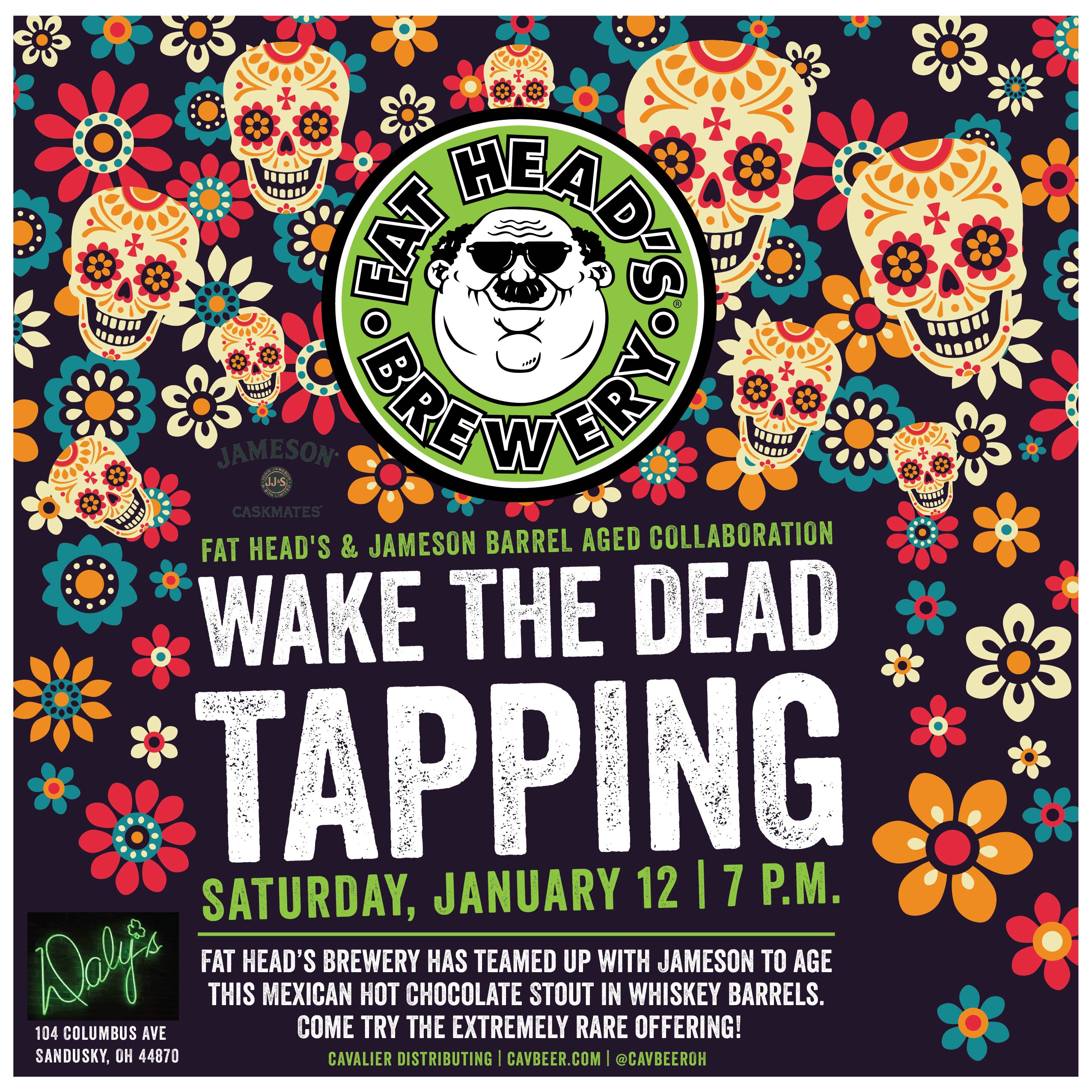 Wake the Dead Tapping @ Daly's