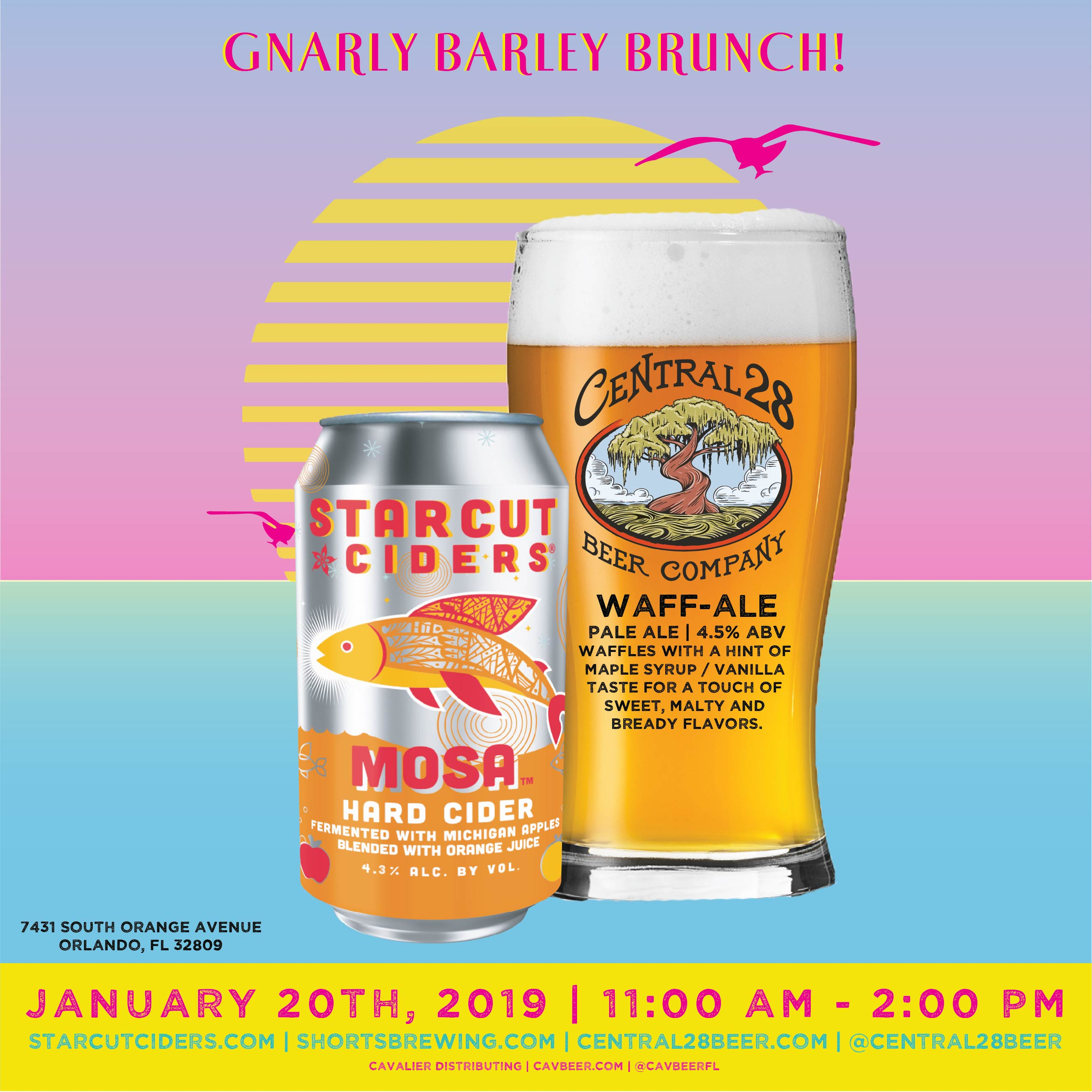 Brunch with Starcut Ciders & Central 28 @ Gnarly Barley
