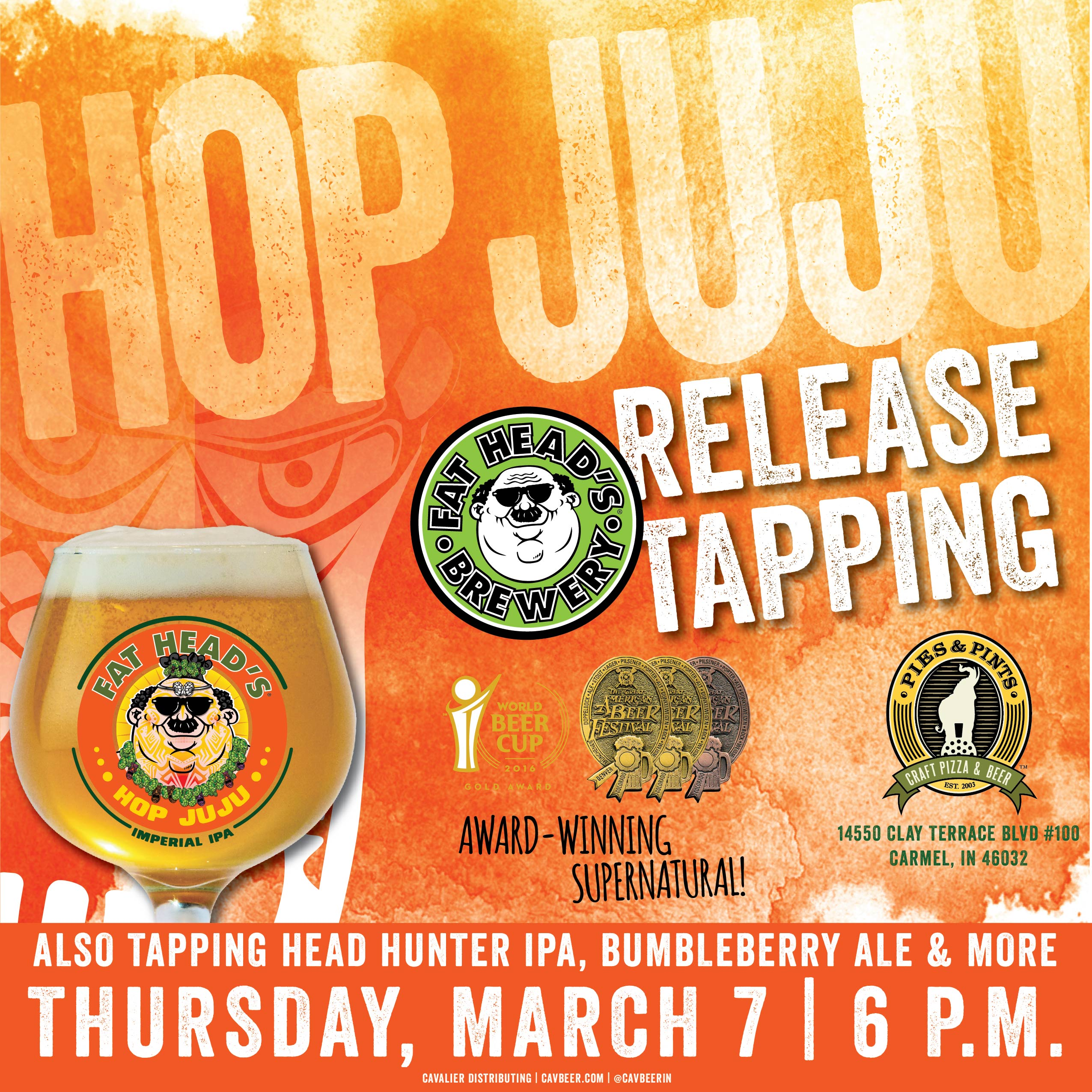 Fat Head's Hop JuJu Tapping @ Pies & Pints