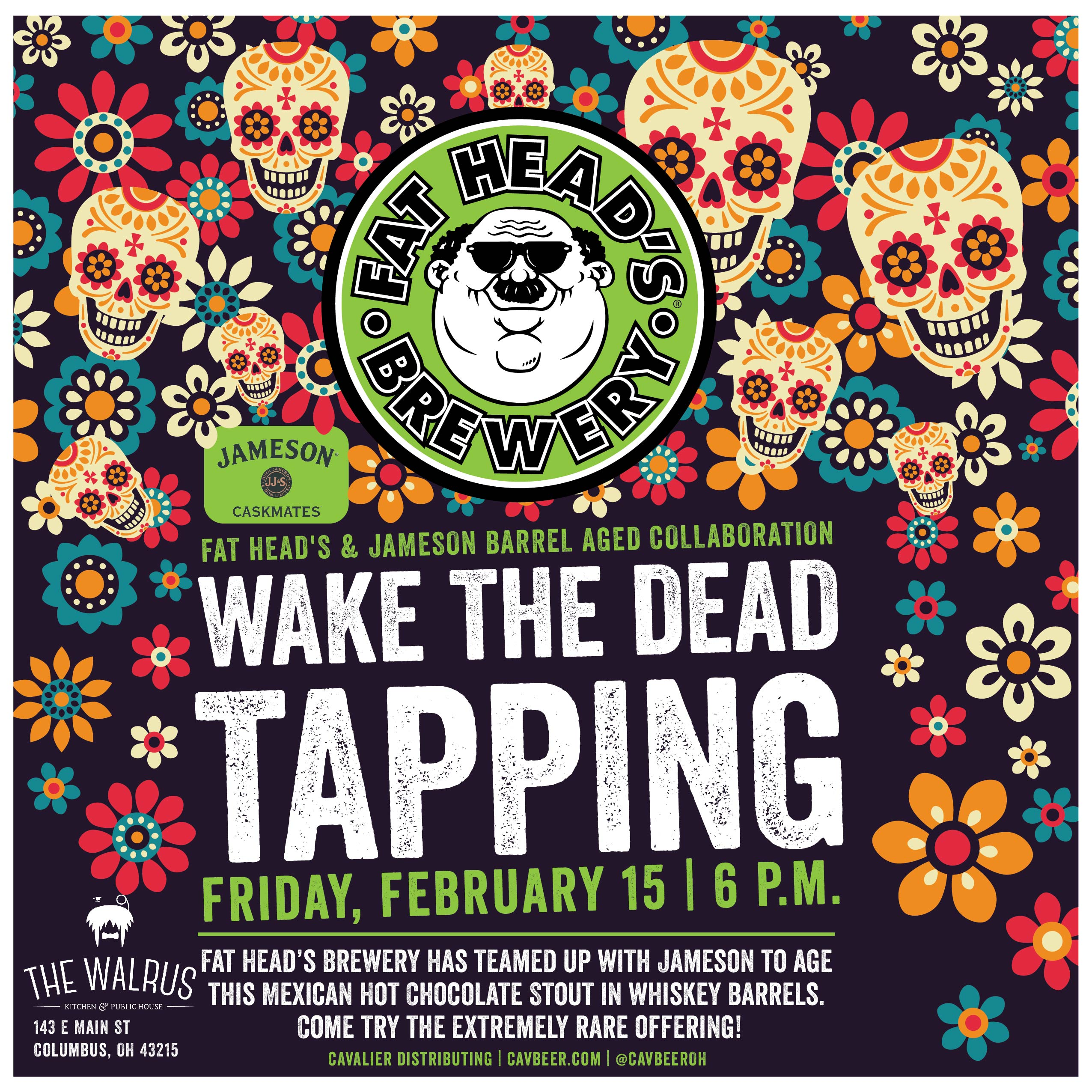 Wake the Dead Tapping @ The Walrus