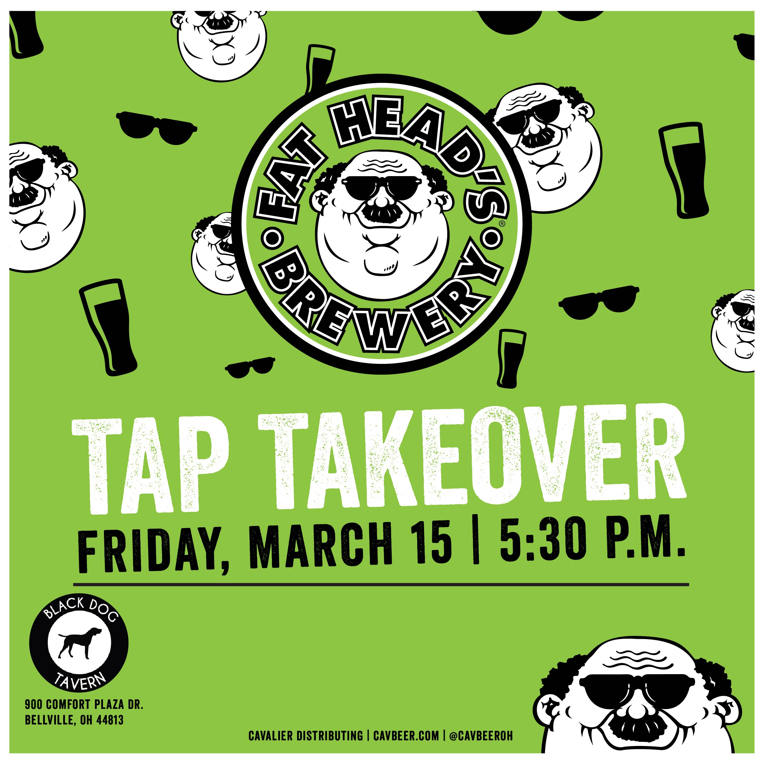 Fat Head's Tap Takeover @ Black Dog Tavern