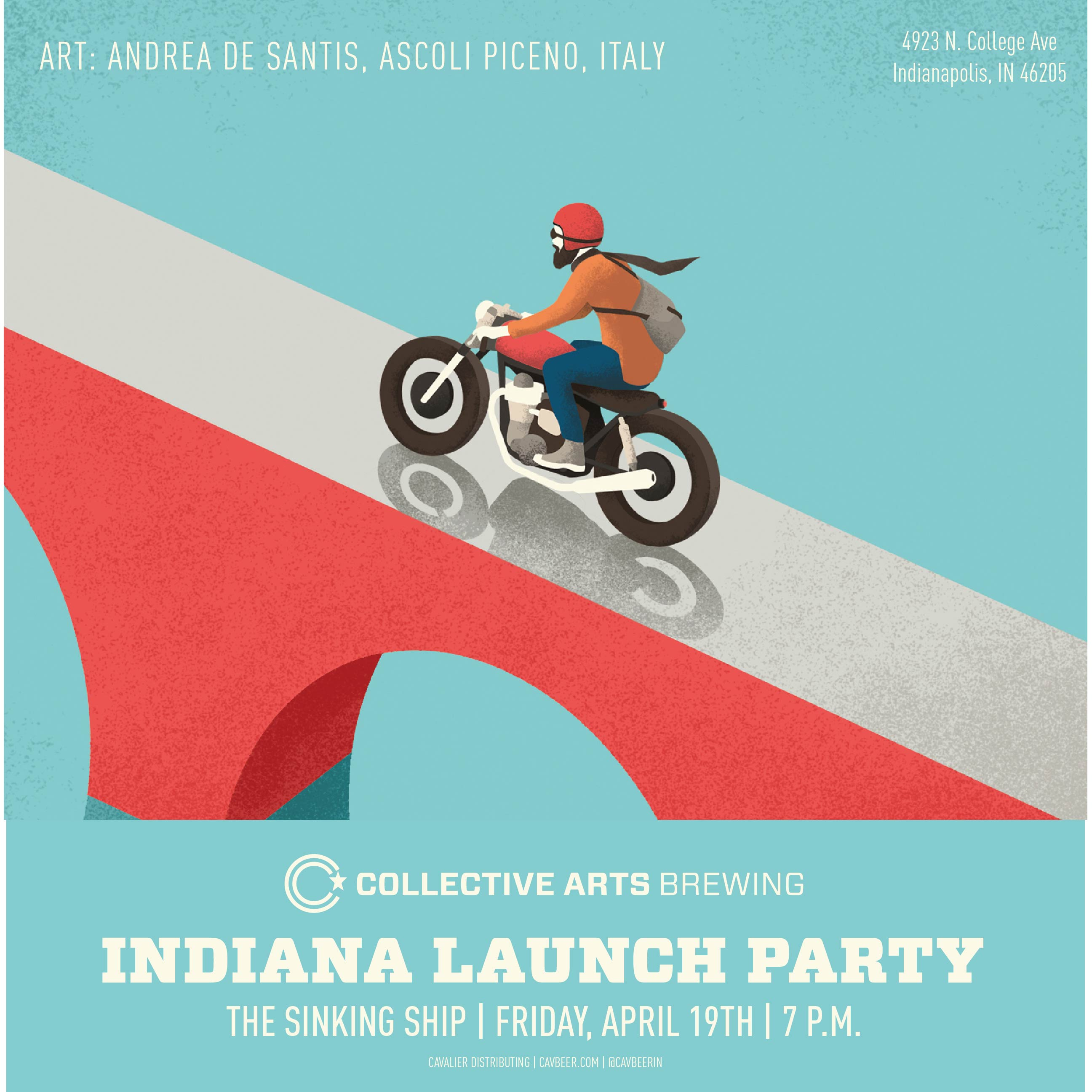 Collective Arts Brewing Launch @ The Sinking Ship
