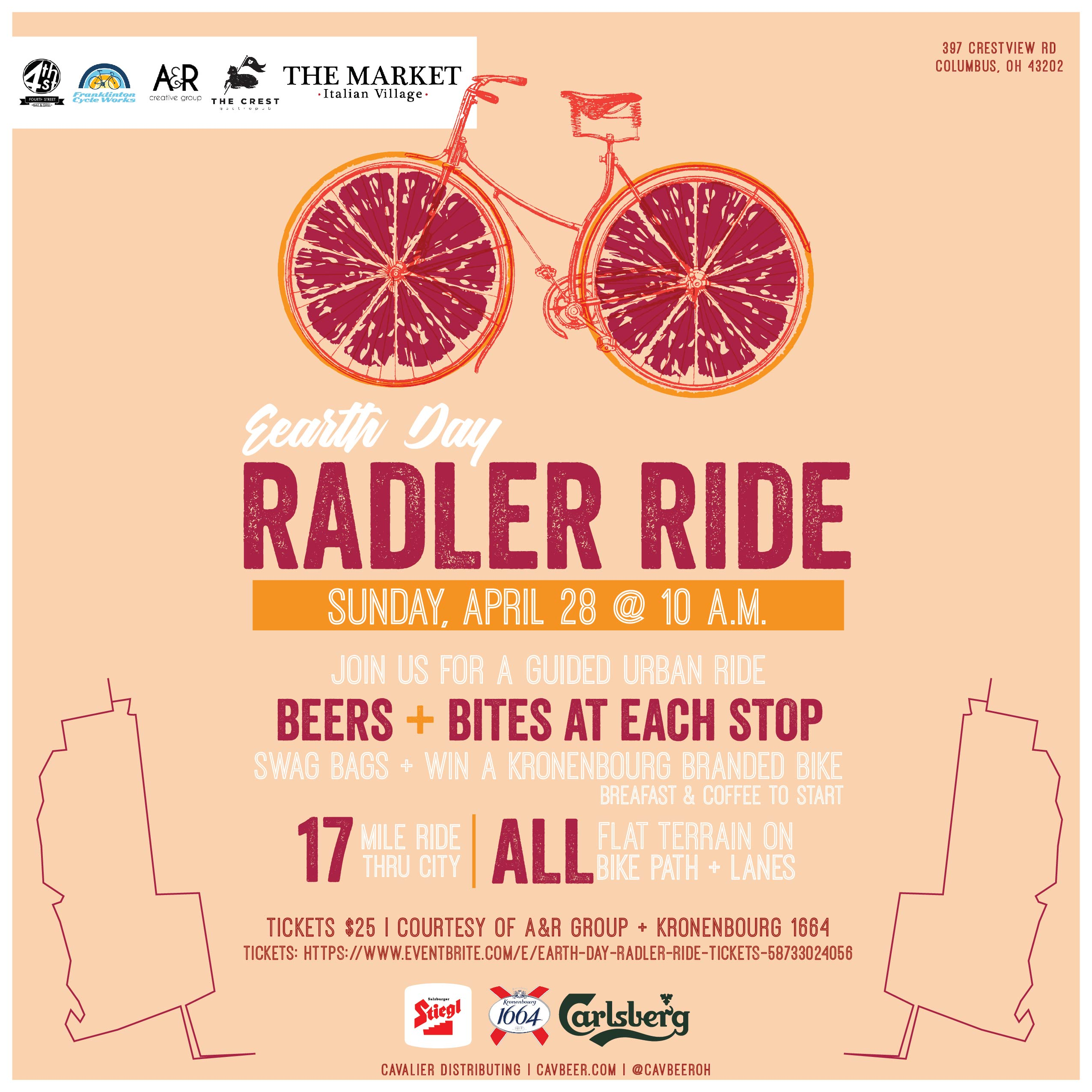 Radler Ride! @ Columbus, Ohio (See attached flyer for details)