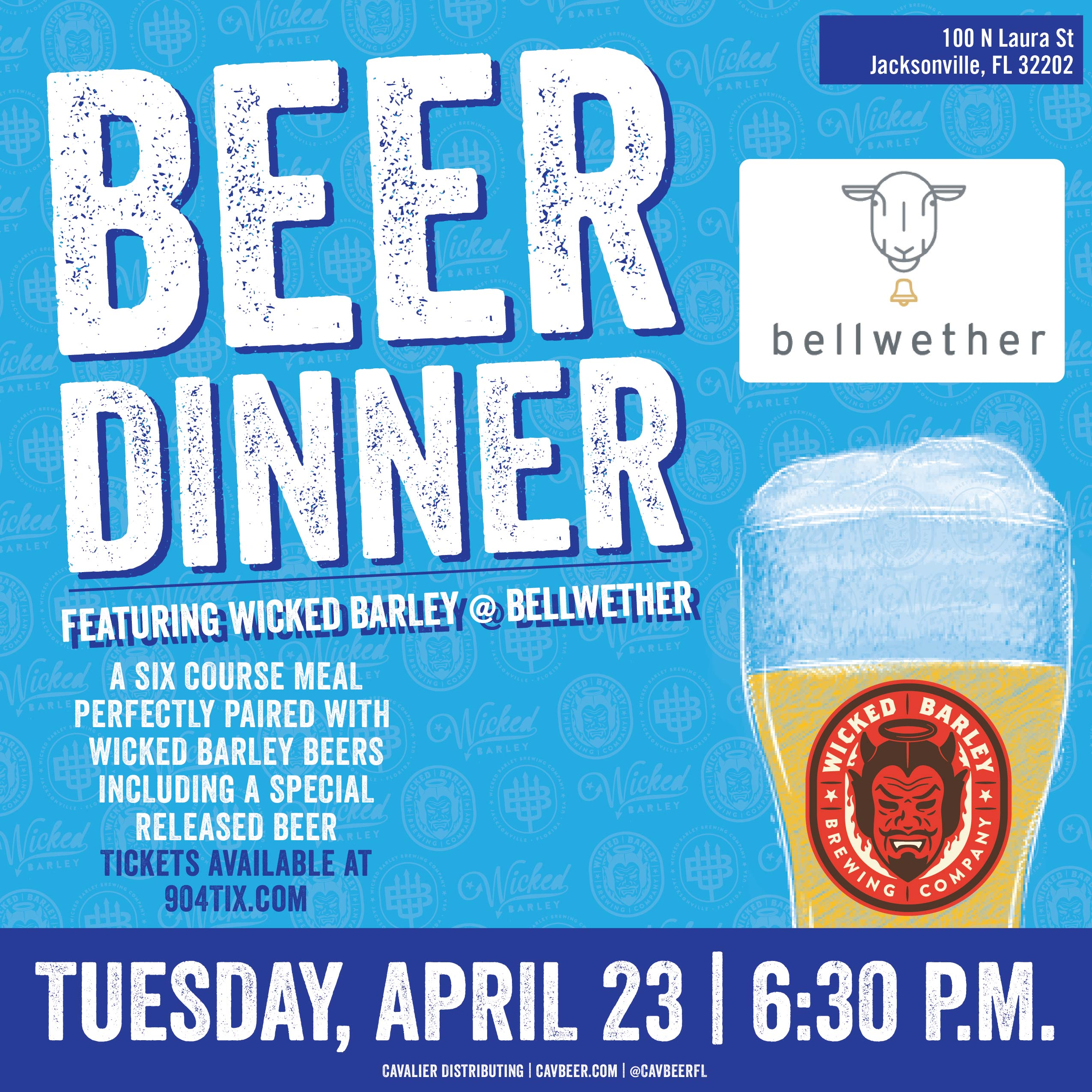Wicked Barley Beer Dinner @ Bellwether
