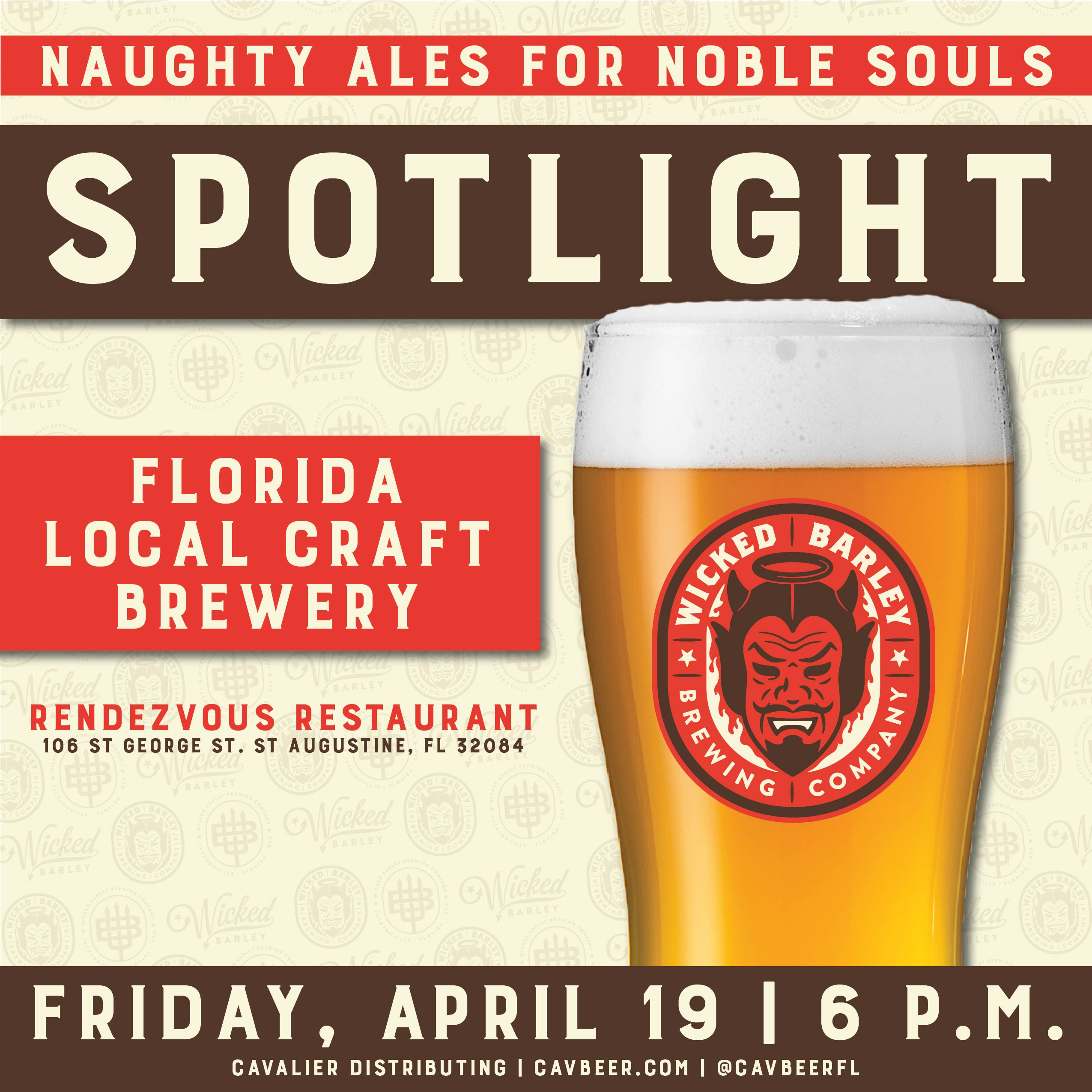 Wicked Barley Spotlight @ Rendezvous Restaurant