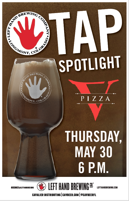 Left Hand Brewing Spotlight @ V Pizza