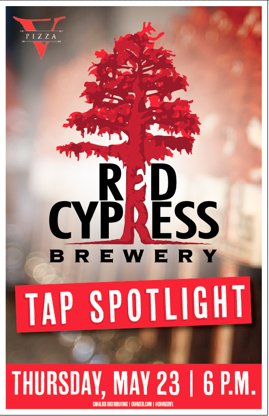 Red Cypress Spotlight @ V Pizza