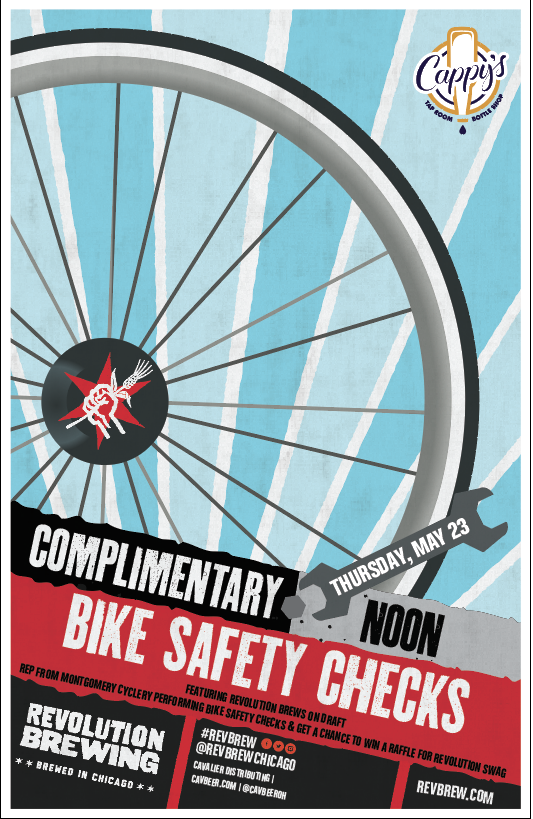 Complimentary Safety Bike Checks @ Cappy's