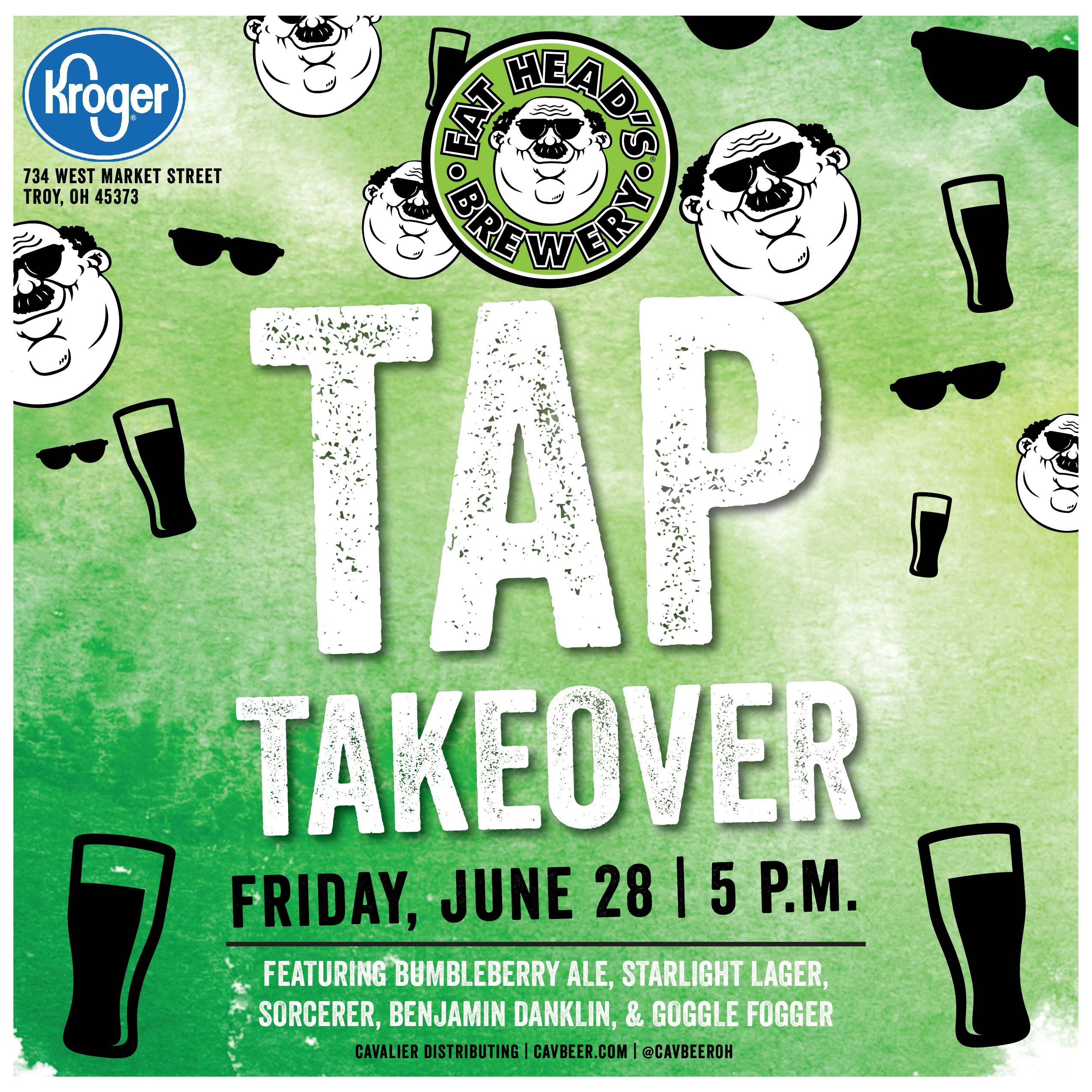 Fat Head's Tap Takeover @ Kroger (Troy,OH)
