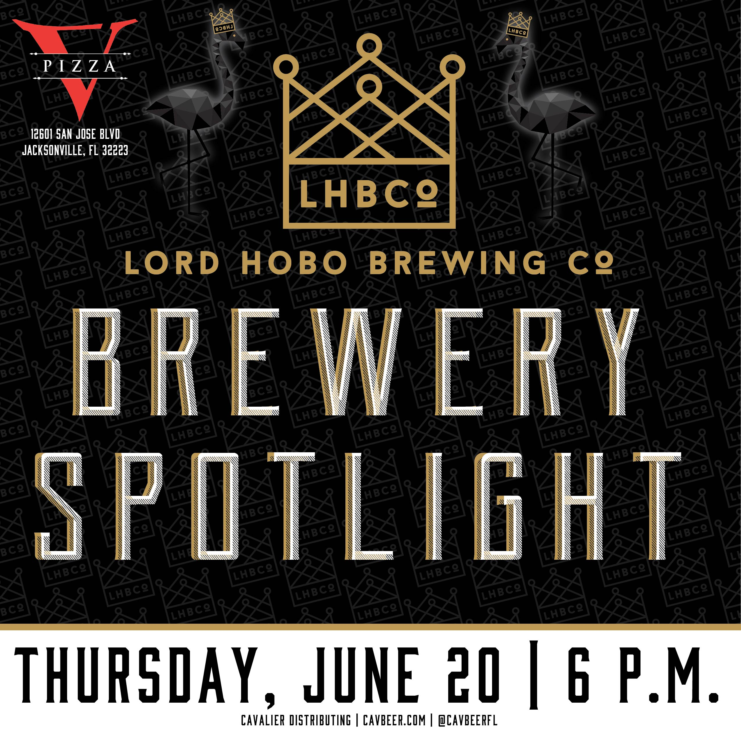 Lord Hobo Brewing Spotlight @ V Pizza