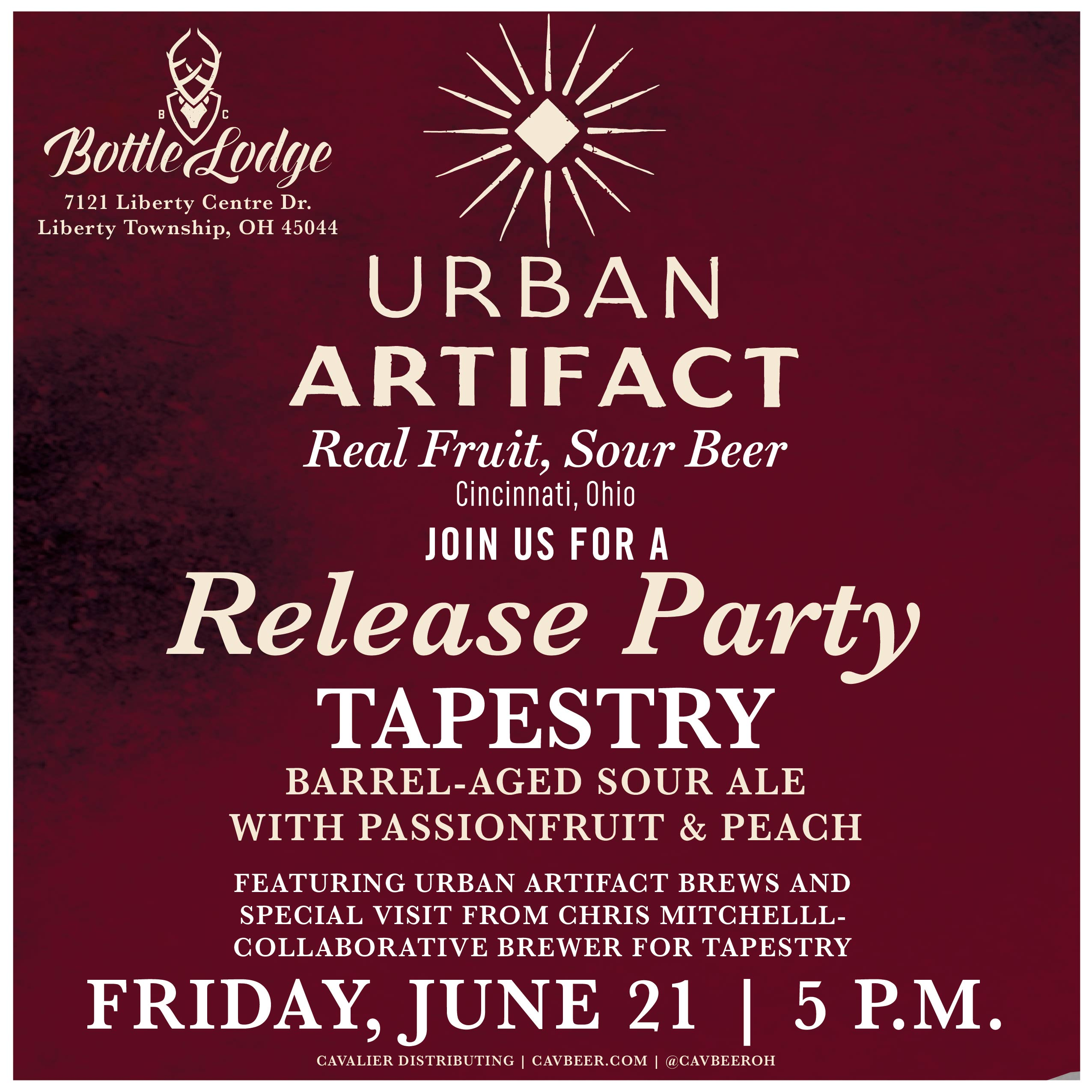 Urban Artifact Release Party @ BC's Bottle Lodge