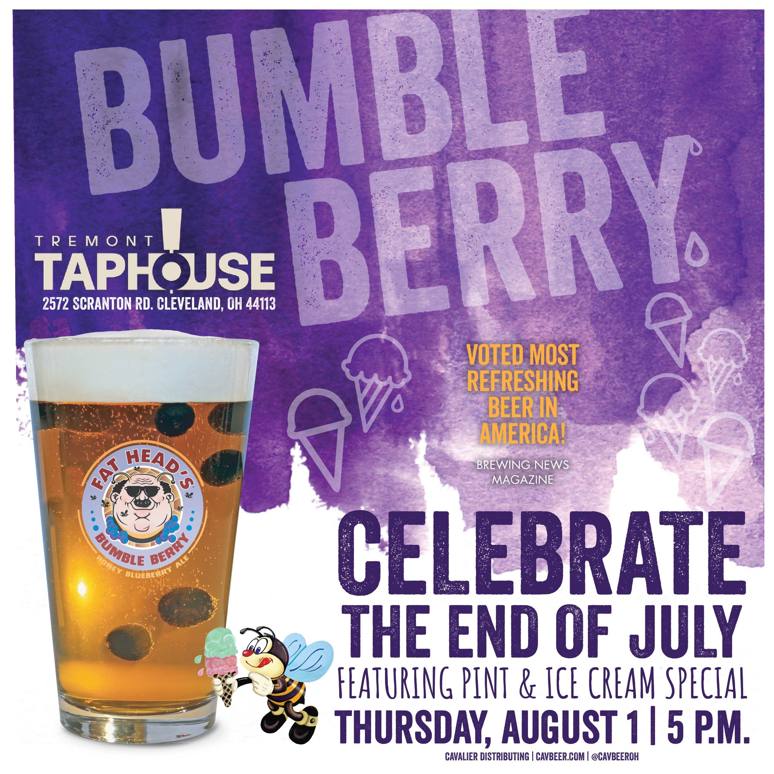 Bumbleberry Feature @ Tremont Taphouse