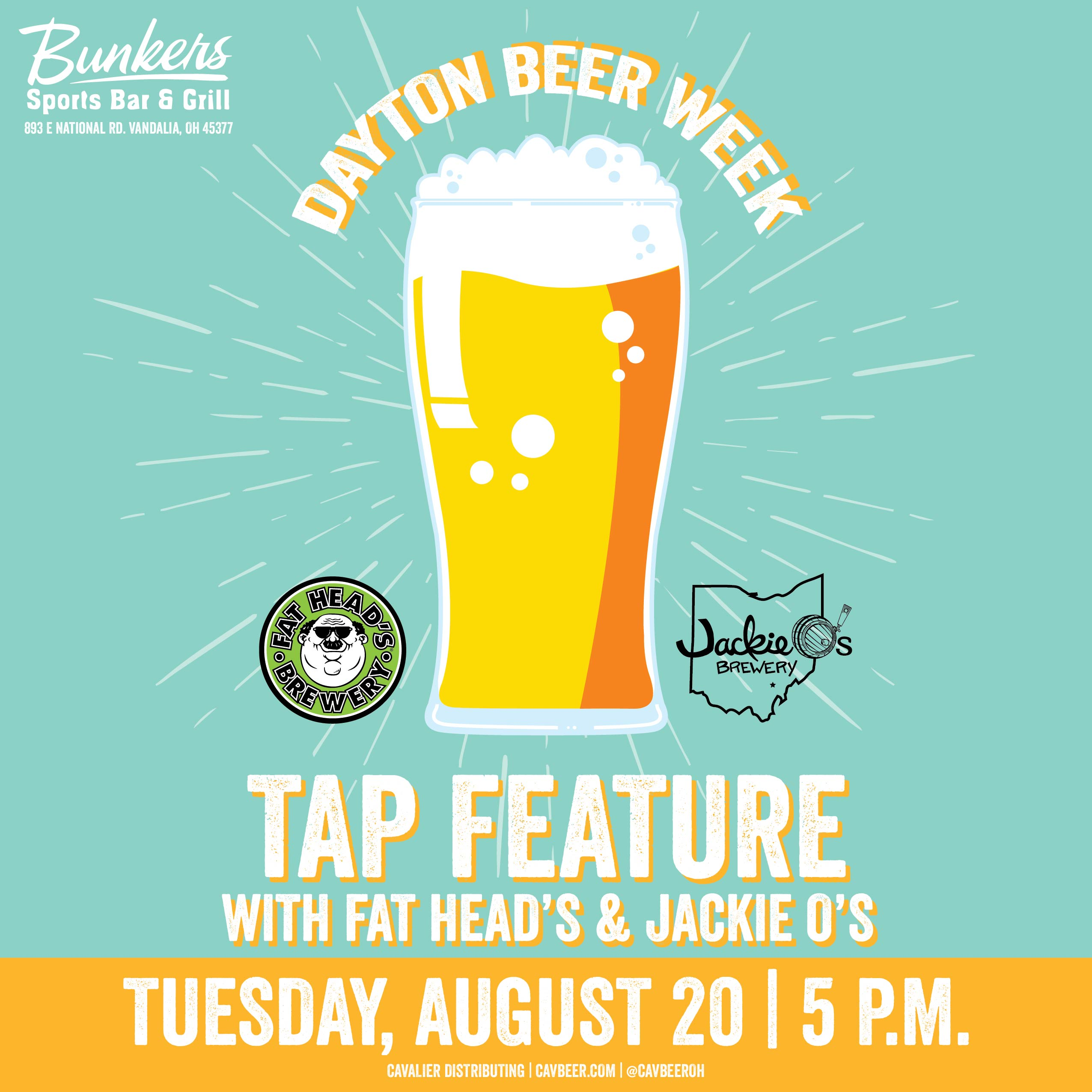 Dayton Beer Week @ Bunkers