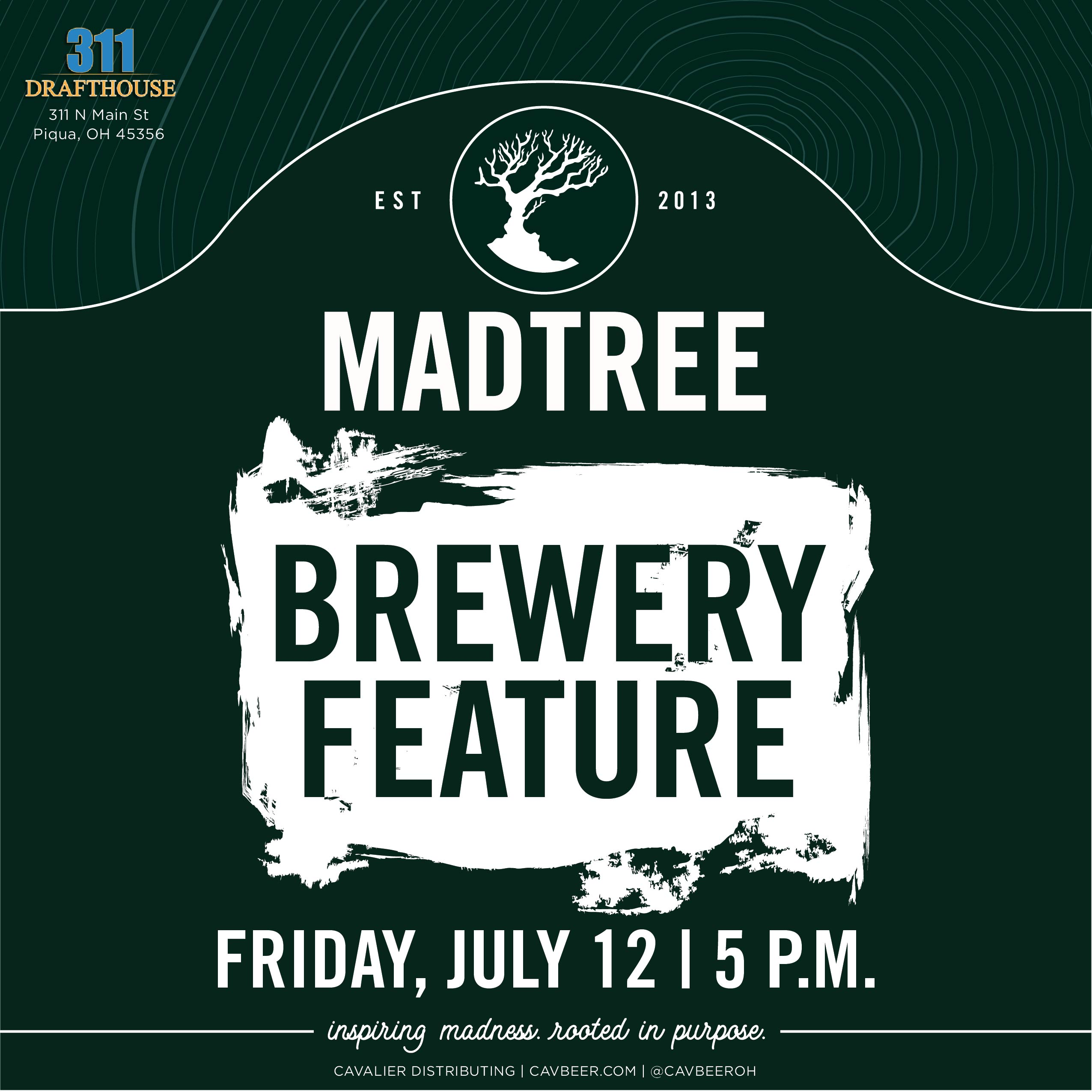 MadTree Brewery Feature @ 311 Drafthouse