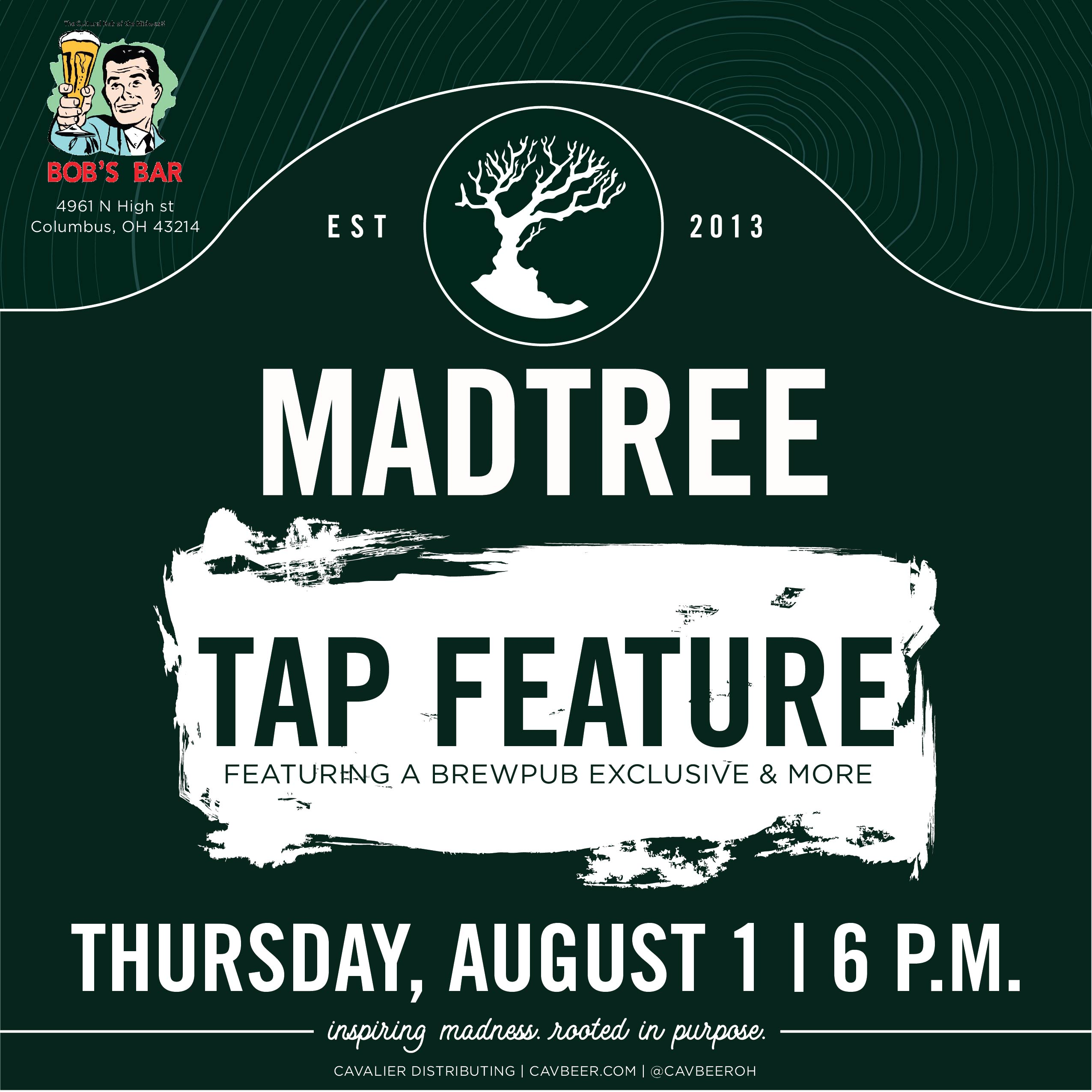 Madtree Brewing @ Bob's Bar