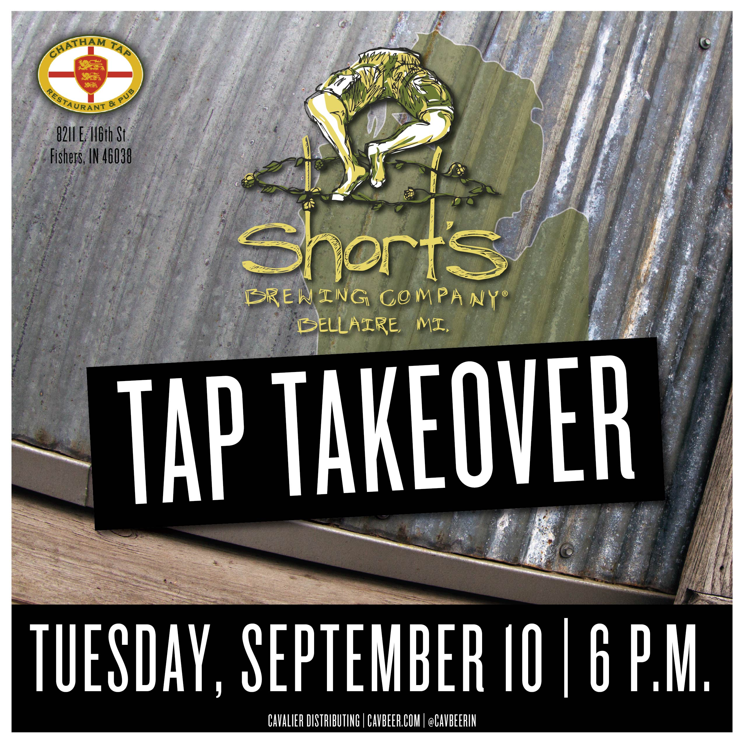 Short's Brewing Tap Takeover @ Chatham Tap