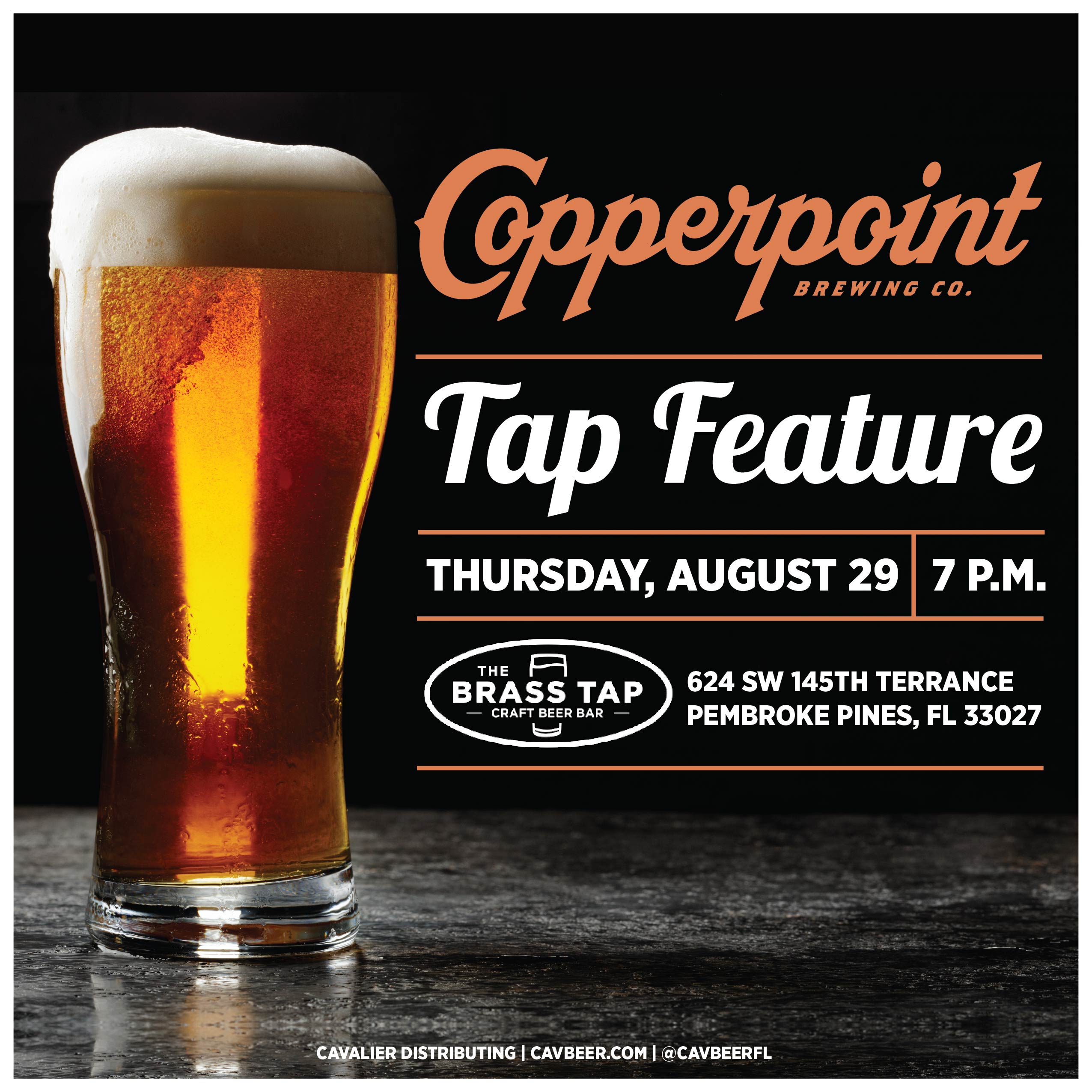 Copperpoint Brewing @ The Brass Tap