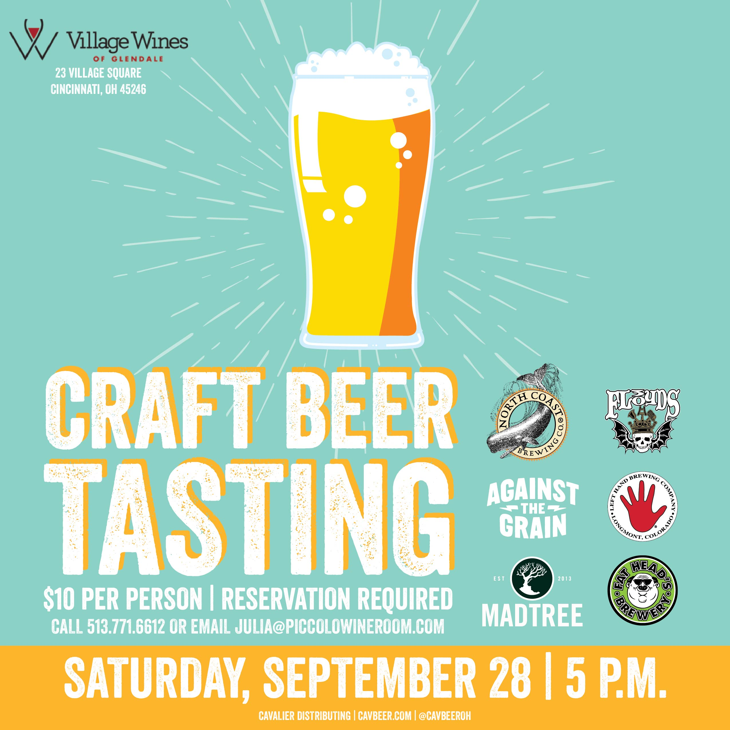 Craft Beer Tasting @ Village Wines of Glendale