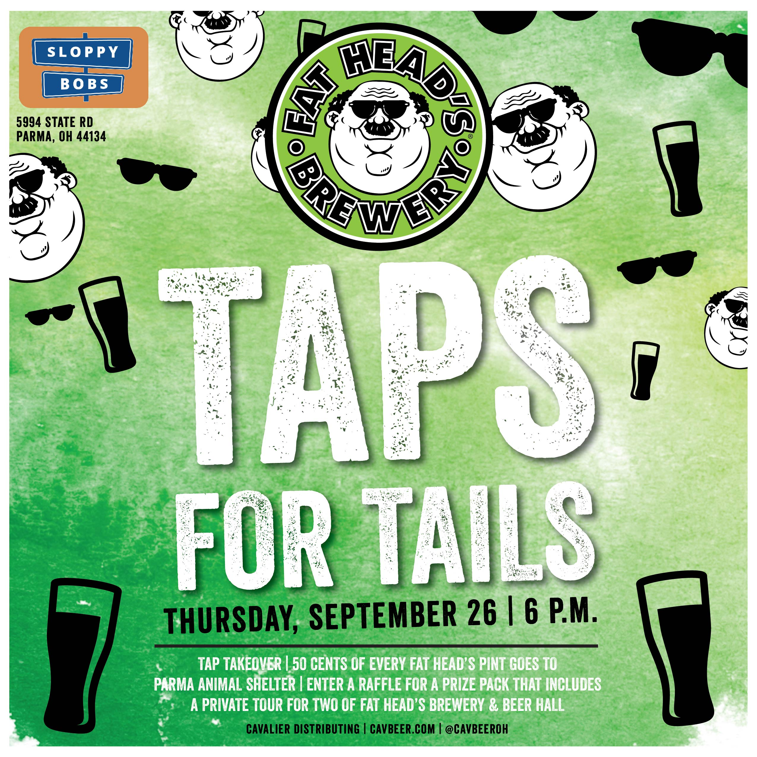 Taps For Tails @ Sloppy Bobs