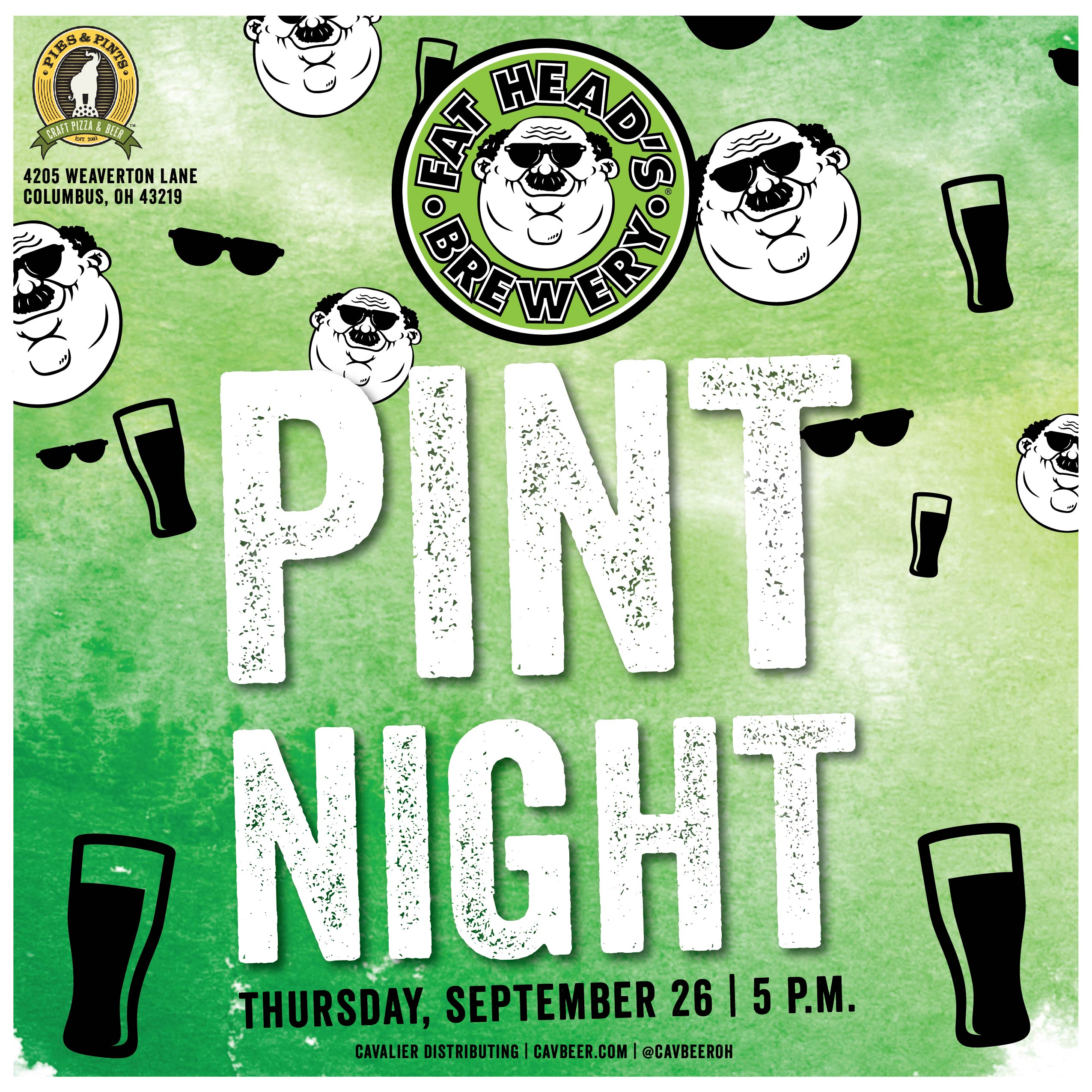 Fat Head's Pint Night @ Pies & Pints