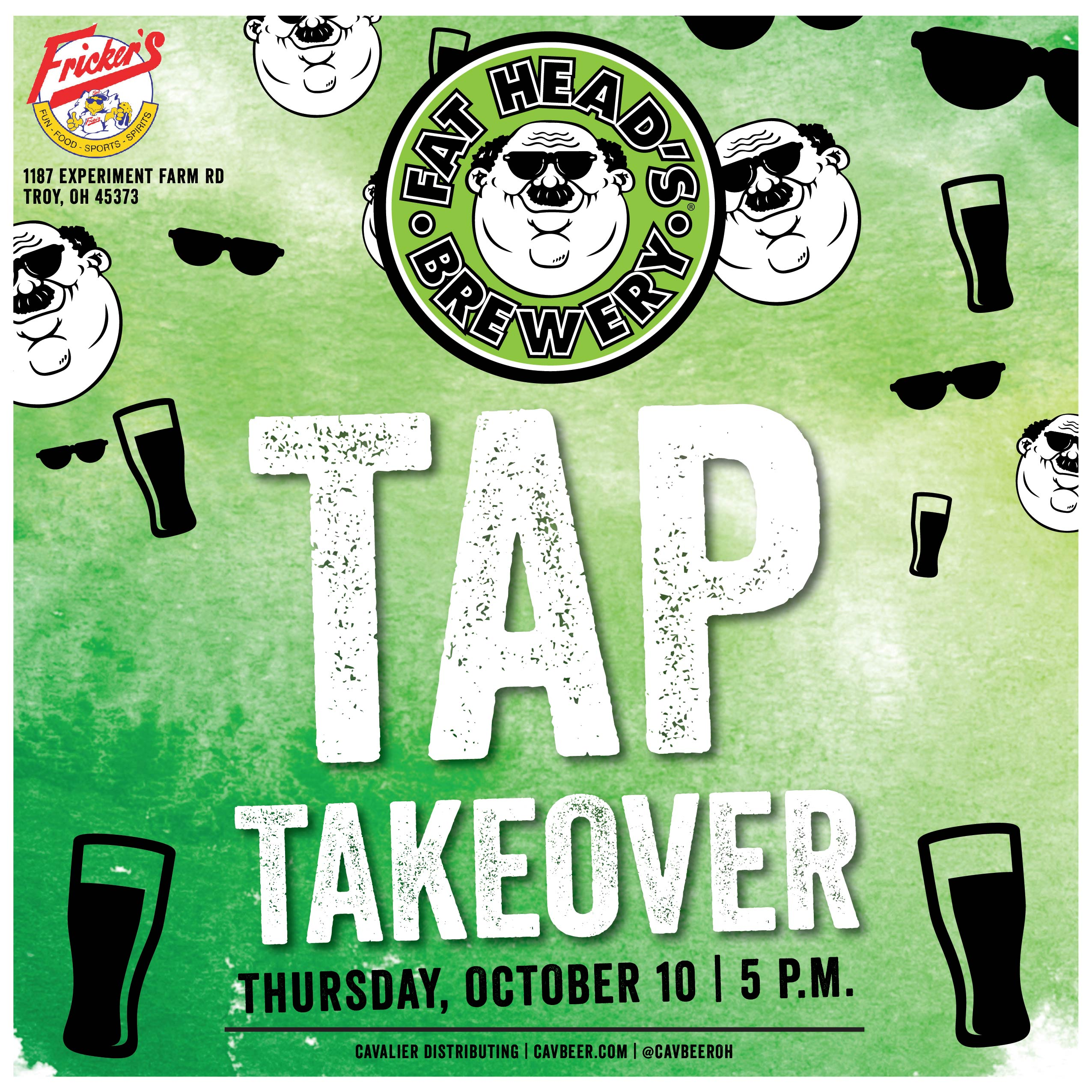 Fat Head's Tap Takeover @ Fricker's