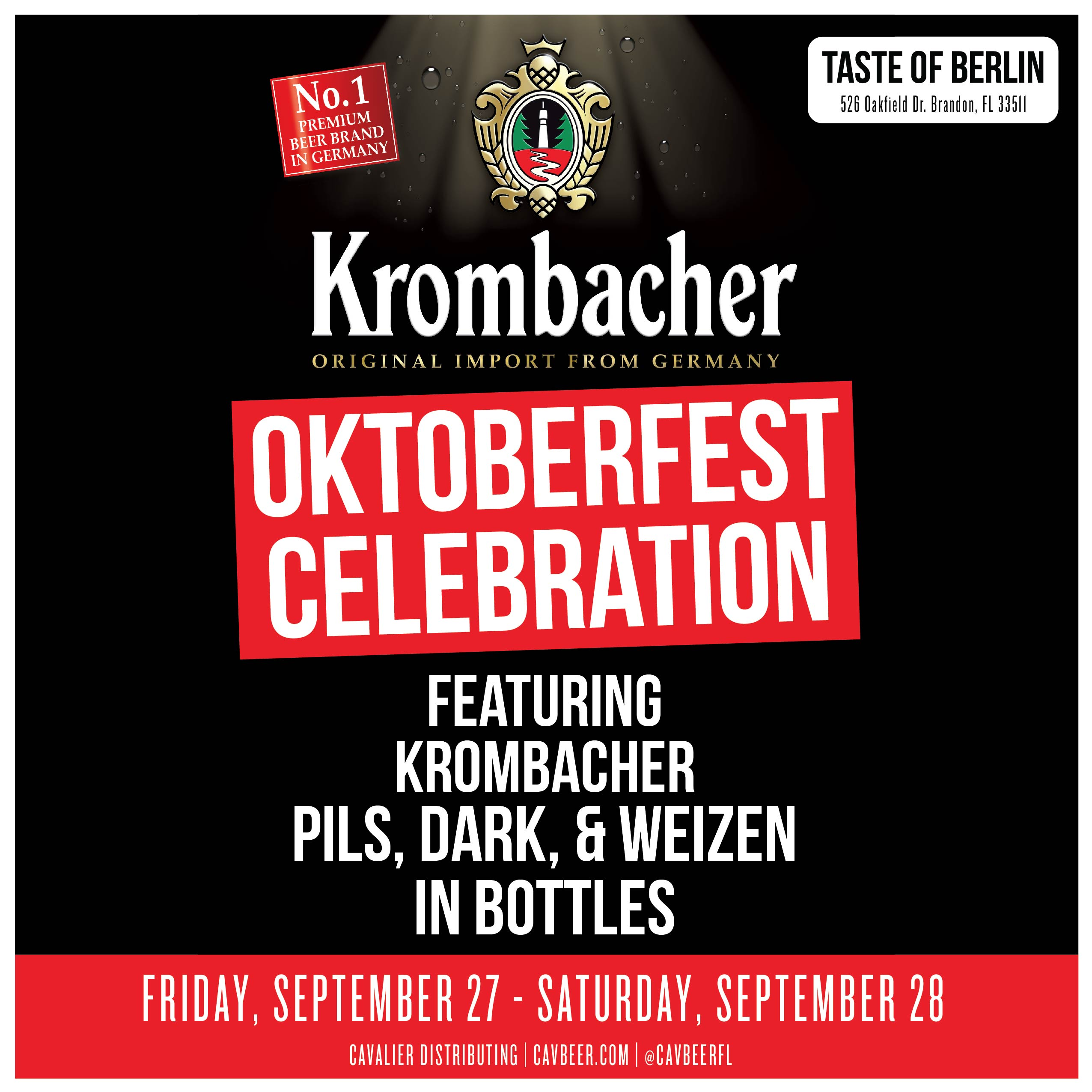 Oktoberfest Celebration @ Taste of Berlin