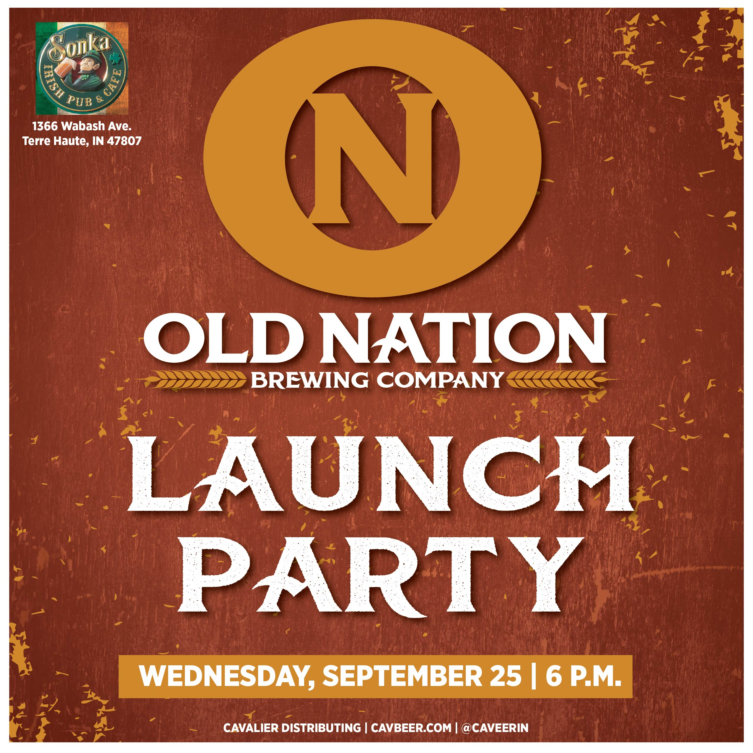 Old Nation Brewing Launch Party @ Sonka