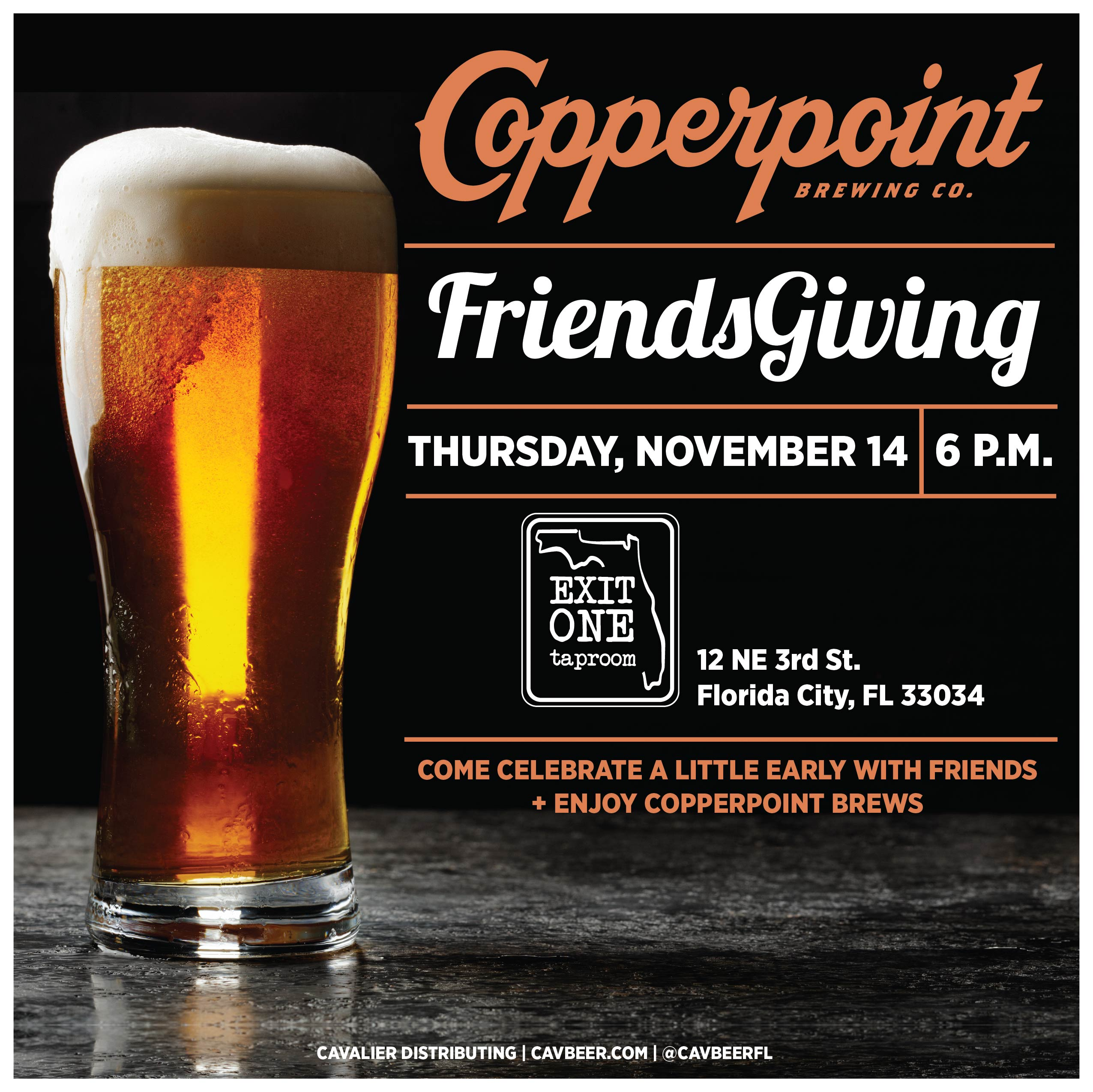Friendsgiving @ Exit One Taproom
