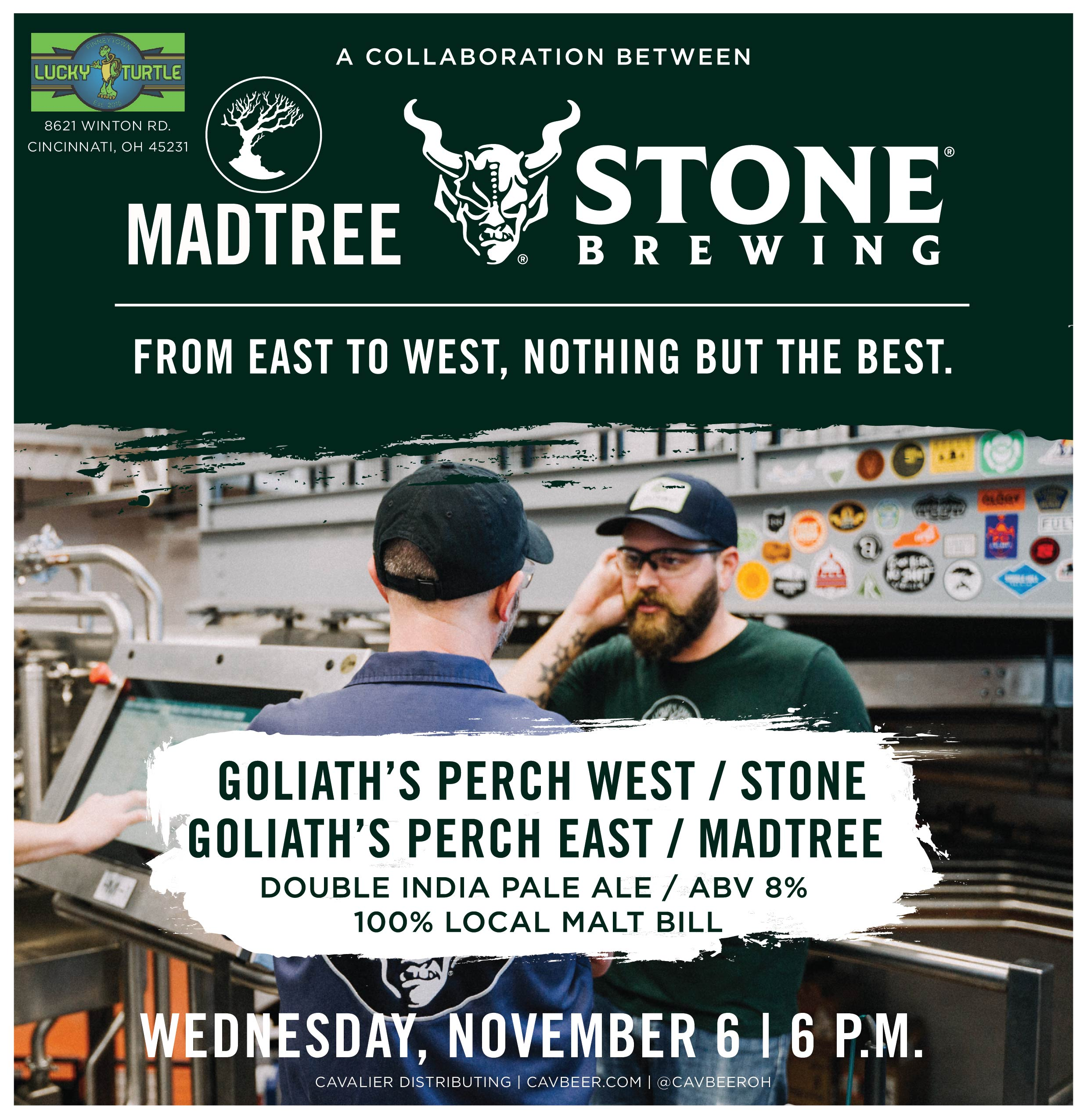 Stone & MadTree Collab @ Lucky Turtle