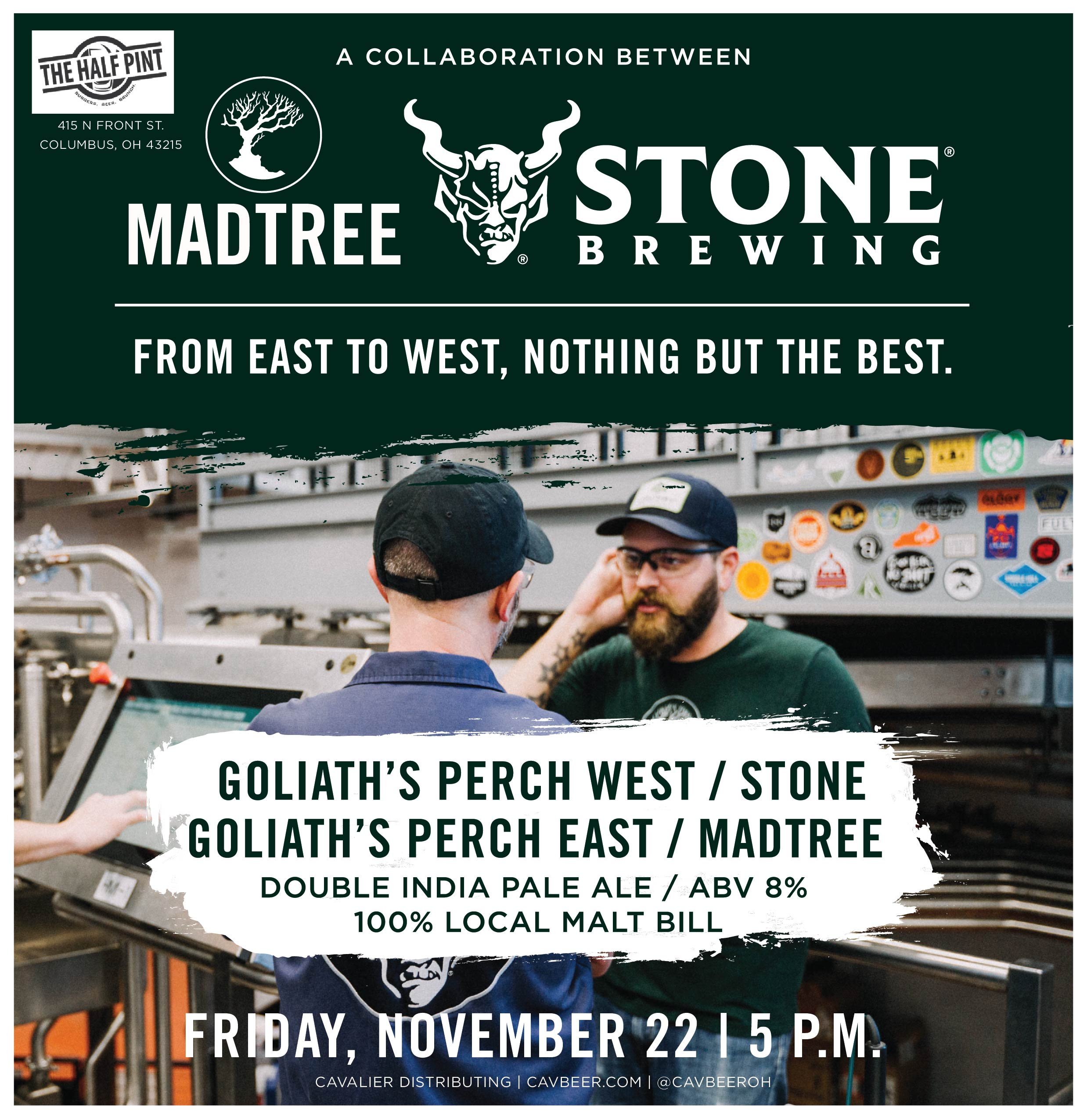 MadTree & Stone Collab @ The Half Pint