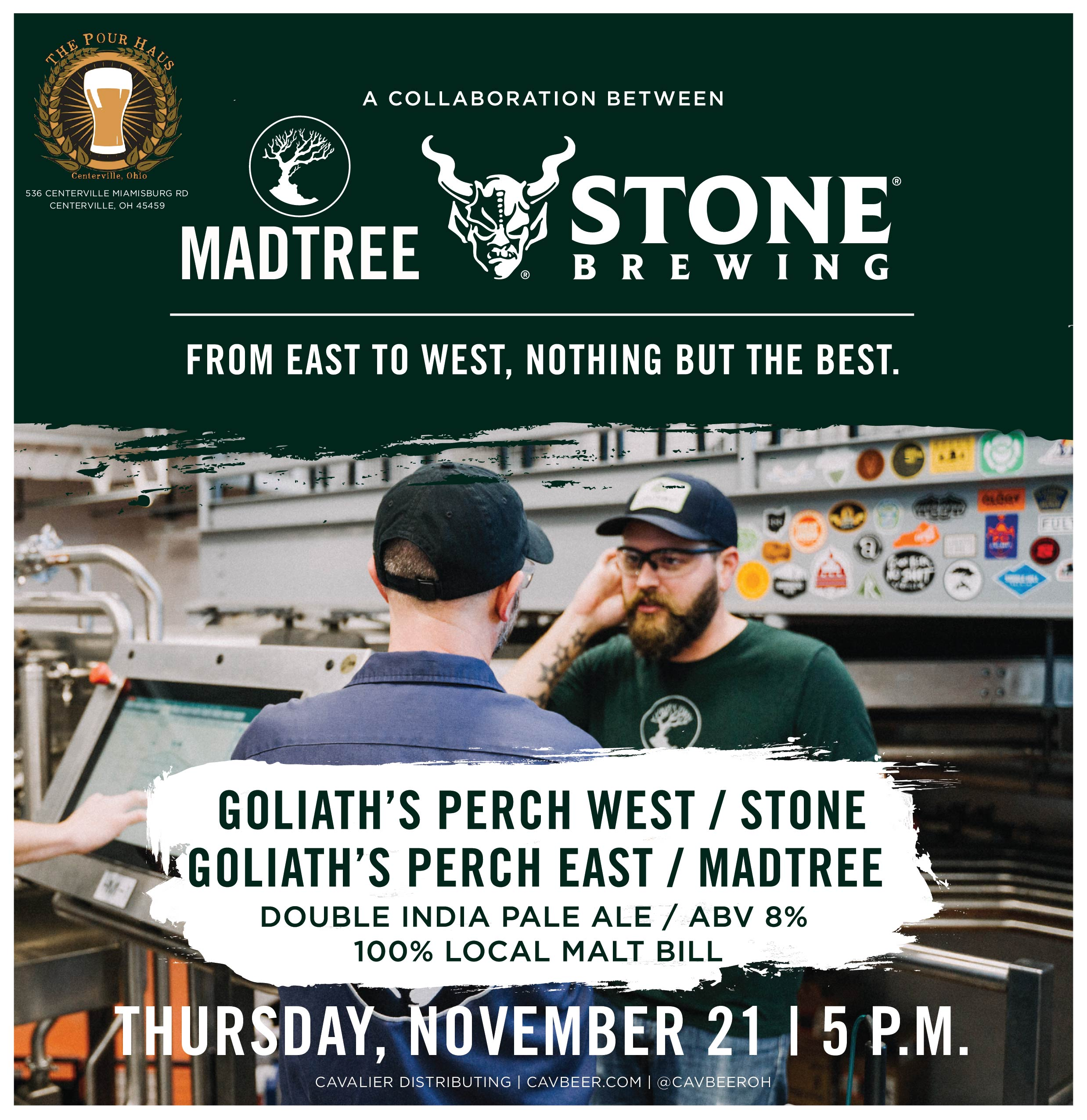 MadTree & Stone Brewing @ The Pour Haus