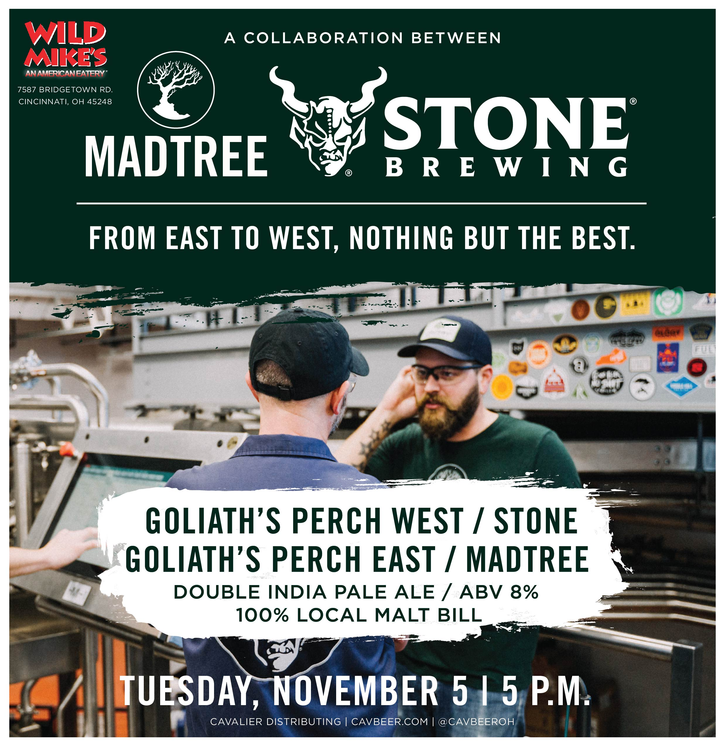 MadTree & Stone Collab @ Wild Mike's